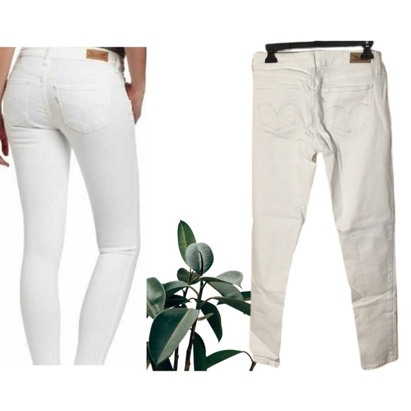 Levi's White Denim Jeans Jeggings - 11 Juniors
